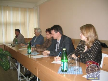 Заседание общества социологов
